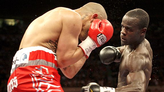 Joshua Clottey and Miguel Cotto