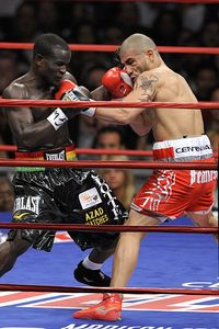 Miguel Cotto and Joshua Clottey