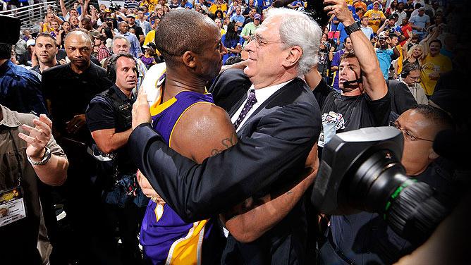 Kobe Bryant & Phil Jackson