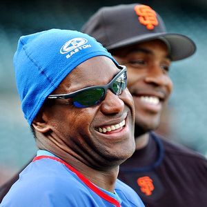Sammy Sosa and Barry Bonds