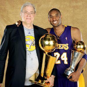 Phil Jackson & Kobe Bryant