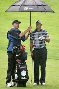 Tiger Woods & Steve Williams