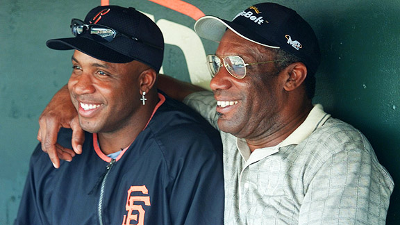 Barry Bonds, Bobby Bonds