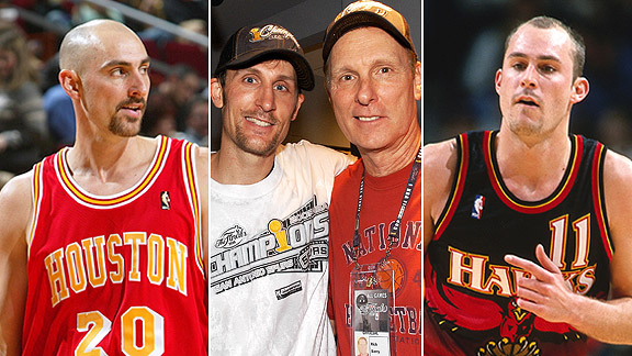 Jon Barry, Brent Barry, Rick Barry, Drew Barry