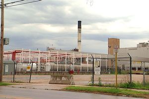 Deserted GM Plant