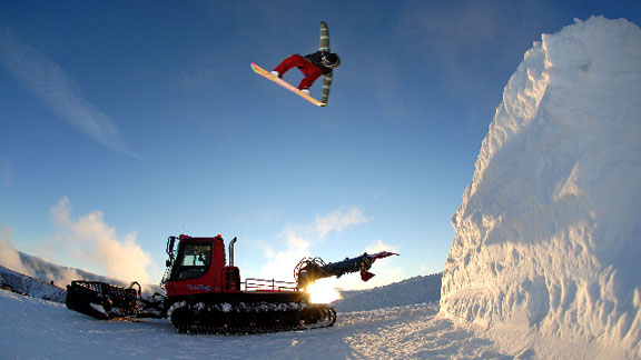 Snow Park NZ Returns To Its Roots - Action Sports - ESPN