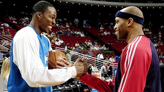 Dwight Howard & Vince Carter