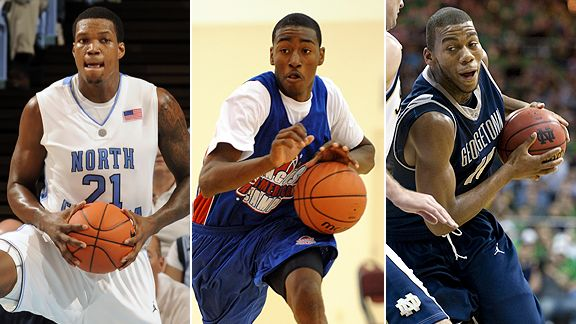 Ed Davis, John Wall and Greg Monroe