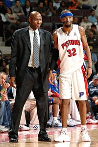 Michael Curry and Richard Hamilton