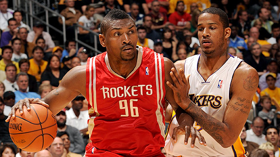 Ron Artest and Trevor Ariza