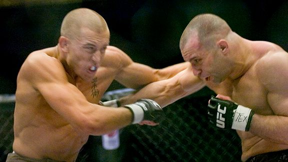 Georges St. Pierre vs Matt Serra