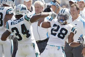 DeAngelo Williams and Jonathan Stewart