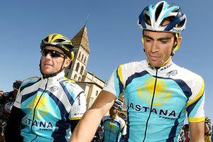 Lance Armstrong & Alberto Contador