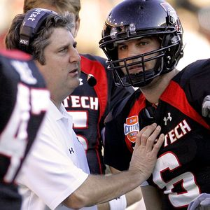 Mike Leach & Graham Harrell
