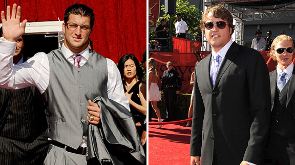 Tim Tebow, Matthew Stafford