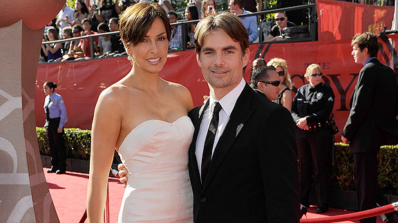 Jeff Gordon, Ingrid Vandebosch