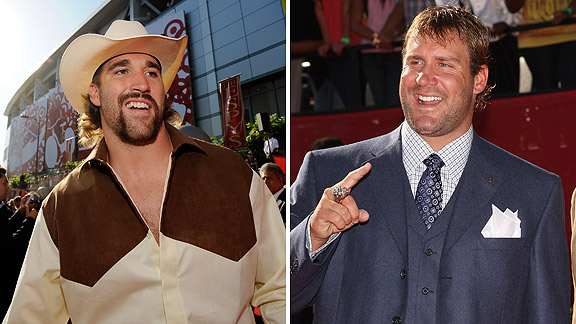 Jared Allen and Ben Roethlisberger