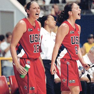 Sue Bird and Diana Taurasi