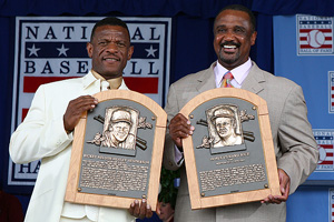 Jim Rice & Rickey Henderson
