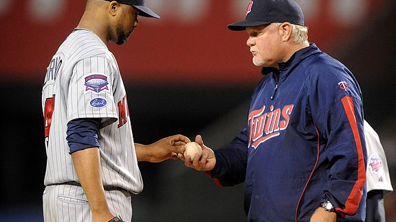 Francisco Liriano and Ron Gardenhire