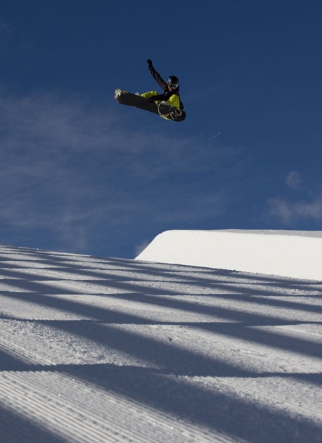 Kelly Clark has the most formidable frontside air in the business.