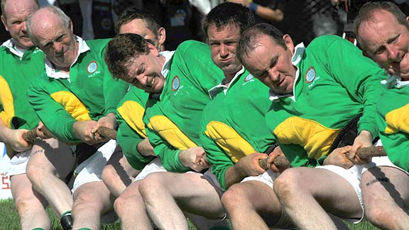 Irish tug-of-war men's team