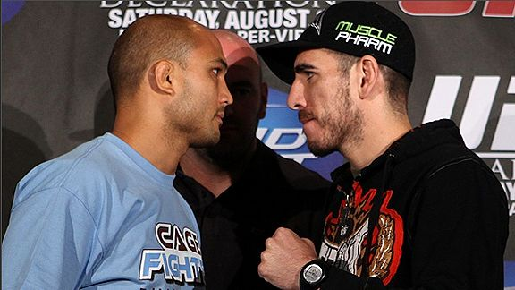 B.J. Penn vs. Kenny Florian