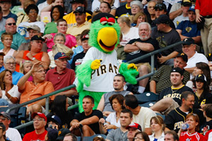 Parrot, the Pirates' mascot