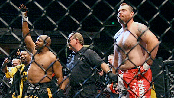 Ray Mercer vs. Tim Sylvia