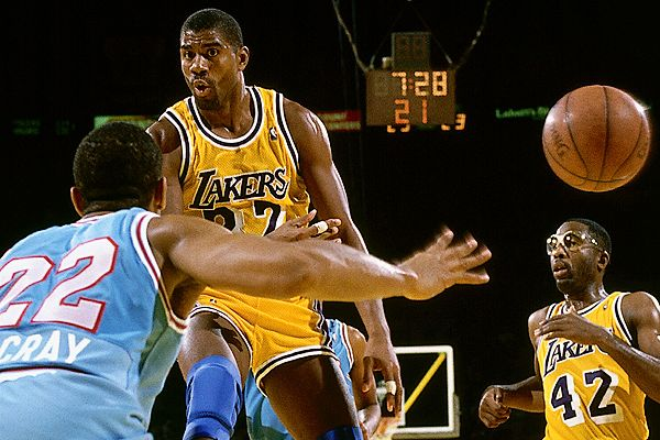 magic johnson pass - photo #3