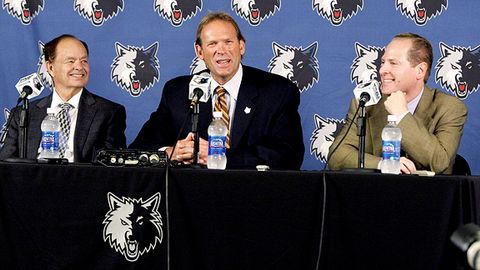 Glen Taylor, Kurt Rambis, David Kahn
