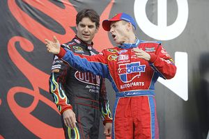 Jeff Gordon and Mark Martin