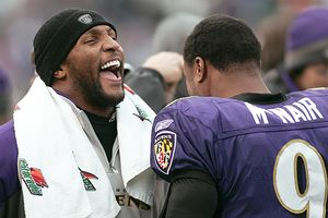 Ray Lewis and Steve McNair