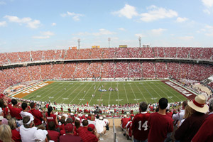 Oklahoma Sooners and the Texas Longhorns