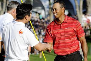 Tiger Woods & Y.E. Yang