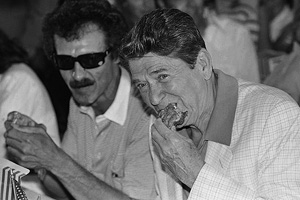 Ronald Reagan & Richard Petty