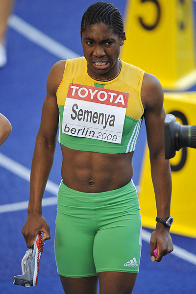 Man or Woman? SAfrican 800m runner undergoing genetic tests