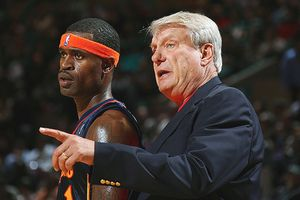 Stephen Jackson and Don Nelson
