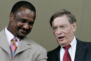 Jim Rice and Bud Selig