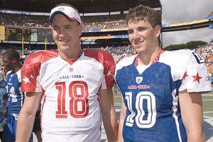 Peyton Manning and Eli Manning