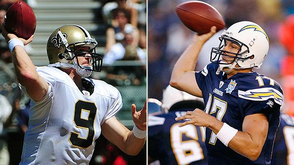 Drew Brees & Philip Rivers