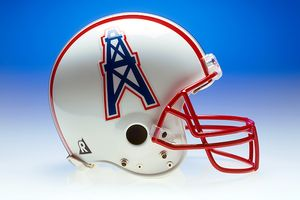 Oilers helmet