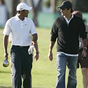 Roger Federer & Tiger Woods