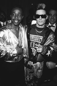 MC Hammer and Vanilla Ice