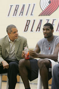 Greg Oden and Bill Duffy