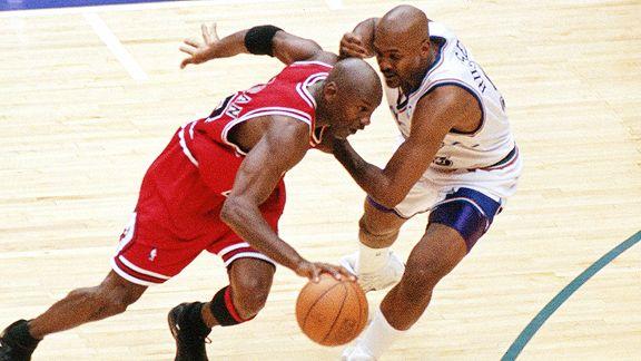 Michael Jordan/Bryon Russell