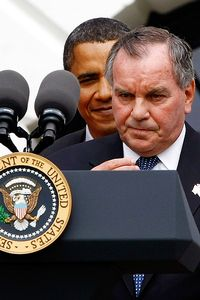 Richard Daley and President Barack Obama