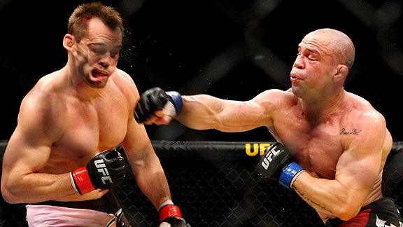 Rich Franklin/Wanderlei Silva Lars Baron/Bongarts/Getty Images Win or lose,