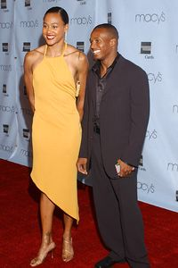 Tim Montgomery and Marion Jones