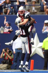 Wes Welker and Randy Moss